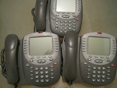 Lot of 18 AVAYA  4621SW IP OFFICE VOIP Telephones with stands