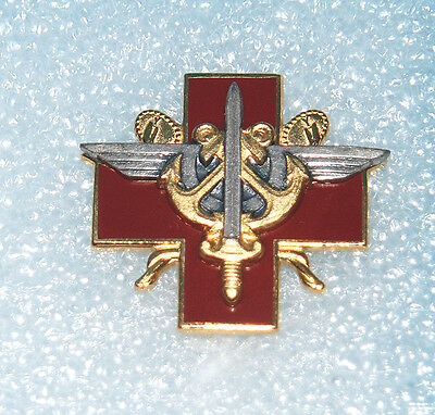 French Possibly German Navy Badge With Rear Pin Fastening.