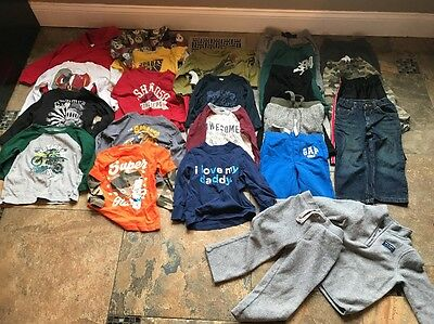 Lot Of Boys Winter Clothes-size 2t