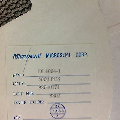 DL4004-T Microsemi/ Diodes Inc Power rectifier 400V; 1A, 5000 Reel