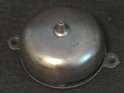 Antique Door Bell with Brass Eastlake Handle and Chrome Bell - Works Great RING!
