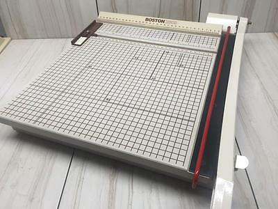 BOSTON Heavy Duty Paper Cutter Guillotine Style Trimmer Model 2655