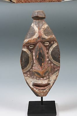 New Guinea Upper Sepik Mask W/ Stand