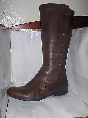 Born Womens Brown Leather Knee High Boots Size 9/40.5 Sage Model