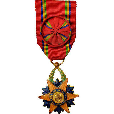 Decorations, Gabon, Order of the Equatorial Star, Medal, 1959, Très bon #412053