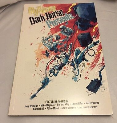 My Space Dark Horse Presents Volume 1 Graphic Novel 2008