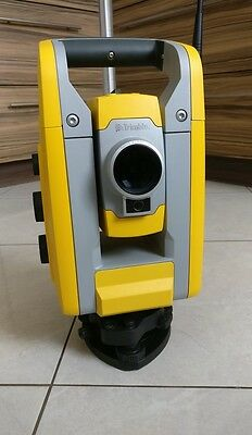 "Great Trimble S3 5"" Robotic Total Station accessories and case, great shape!"