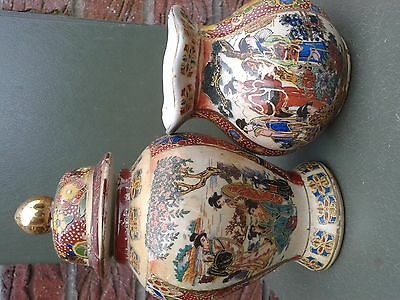 antique signed Chinese small bowl set