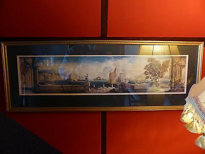 Stunning Antique Picture in frame / Very detailed