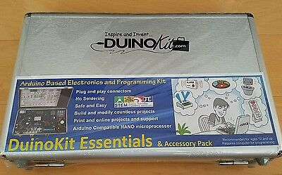 DuinoKit Essentials & Accessory Pack, Arduino Based Discovery System