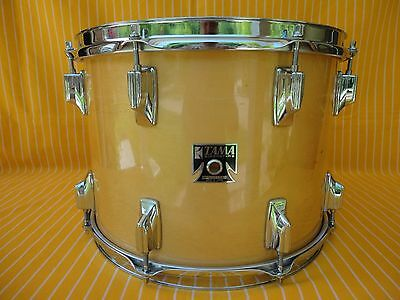 "1980s VINTAGE TAMA SUPERSTAR 14""x10""deep RACK TOM DRUM SUPER MAPLE MADE IN JAPAN"
