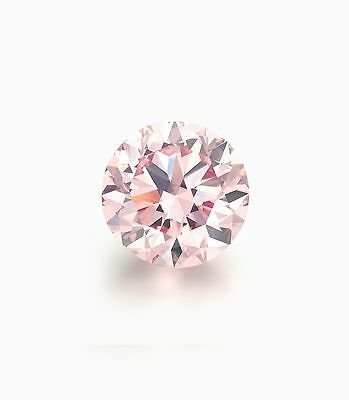 Authentic Australian Argyle Pink Diamond 0.10ct