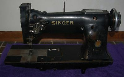 Industrial SINGER twin needle sewing machine model 112W140 head only