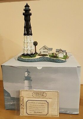 1999 Harbour Lights! # 225! Hillsboro Inlet, Florida Lighthouse Box, Coa!
