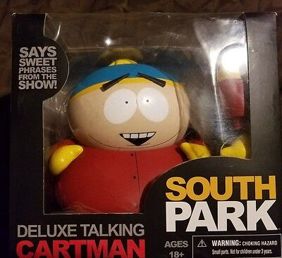 South Park Deluxe Talking Cartman Figure By Mezco New In Box Sold Out Everywhere