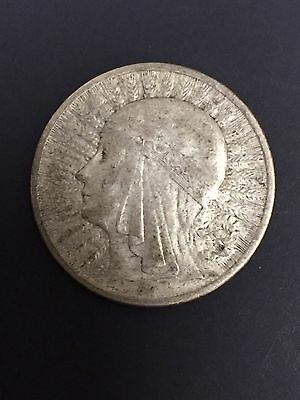 1932 And 1934 2 Zlote Poland Silver Coin Queen Jadwiga