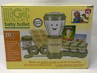 Magic Bullet Baby - The Complete Baby Food Making System | Ships Free