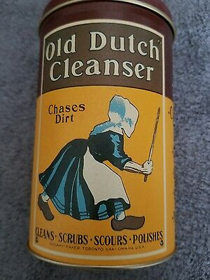 Vintage OLD DUTCH CLEANSER Collector's Tin