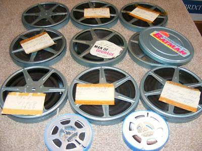 8mm Film Home Movie Lot 11 Reels 1960's Family - 2 Movies #5