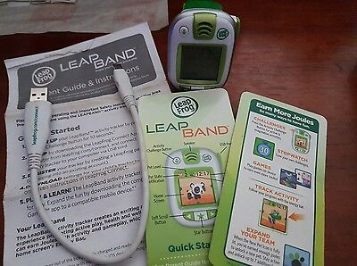 Leap Frog LeapBand Watch Green - FREE POST