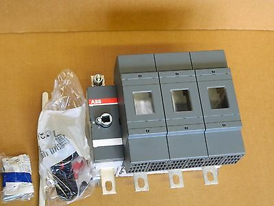 ABB OS 315B03N3 3 Phase Fused + N, Switch Disconnector 315A