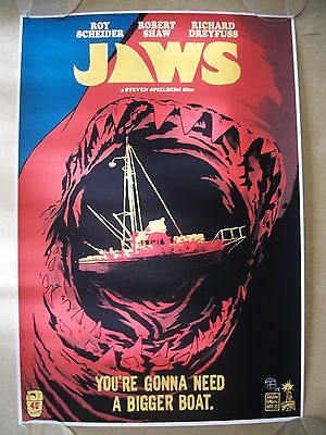 Francesco Francavilla JAWS movie art print poster