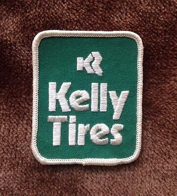 Vintage KELLY TIRES Car Automobile Collectible Patch