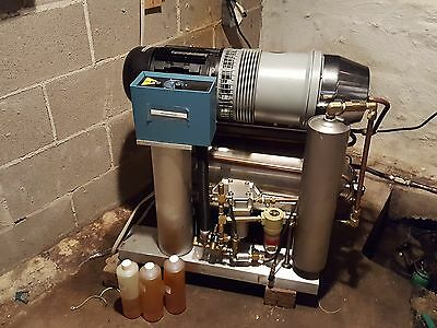 Luckman Hydrovane T-Bolt lll Dental Air Compressor England Only 1,972 Hours Use