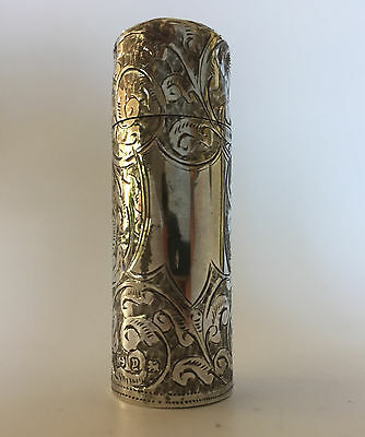 Solid Sterling Silver perfume bottle