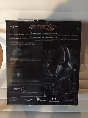 Creative Sound Blaster Tactic3D Sigma Gaming & PC Headset  - GREAT