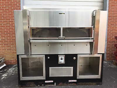 Wood Stone 8645 Wood/gas Oven  Commercial Pizza Oven With Factory Hood.