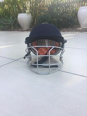 New Albion Model C8 Renegade Cricket Helmet + Full Set Of Padding Replacements