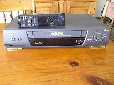 Panasonic Super Drive Vhs Model Nv-Sd270