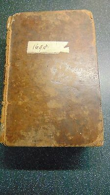 1698 Leather Bound The Book Of Common Prayer