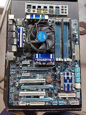 Intel Core i5 760, Gigabyte P55A-UD6 Motherboard, Corsair 8GB DDR3 1600MHz RAM