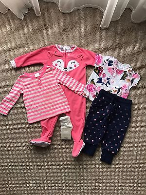 Girls Size 0 Bundle Clothing (6 - 12 Months)