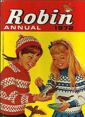 1972 Robin Annual For Young Children Acceptable Condition