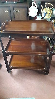 Vintage Tea Trolley with removable Butlers tray