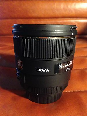 Sigma 85mm f1.4 Canon, AS NEW