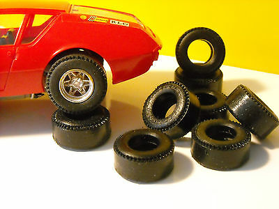 8 tires urethane for Alpine A310 SCALEXTRIC HORNBY - UK