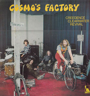 Creedence Clearwater Revival - Cosmo's Factory UK LP Liberty Textured Sleeve
