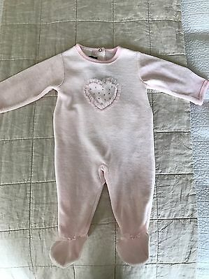 Beautiful French Jumpsuit Size 3 Months - Brand New