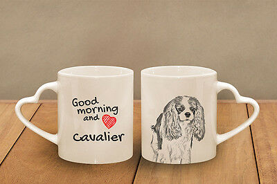 "Cavalier - ein Becher ""Good Morning and love, heart"" Subli Dog, CH"