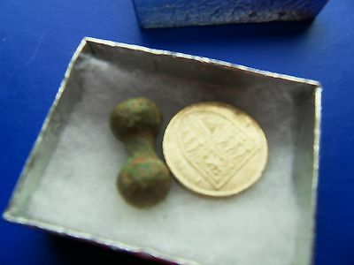 Bronze age / Iron age Celtic ?? toggle artefact Metal detecting detector
