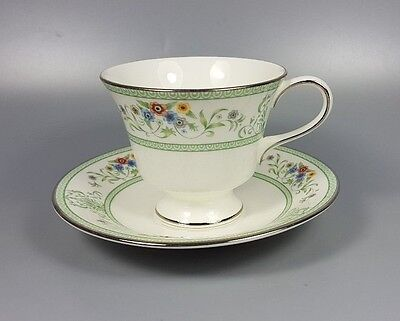 Wedgwood Agincourt R4471 Tea Cup And Saucer