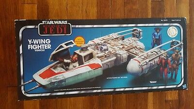 Vintage Collection Star Wars Return Of The Jedi Y-Wing Fighter Vehicle Kenner