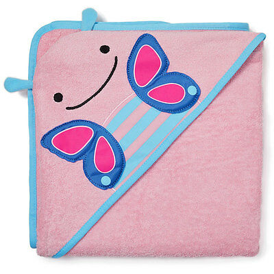 NEW Skip Hop Toddler Hooded Towel - Butterfly