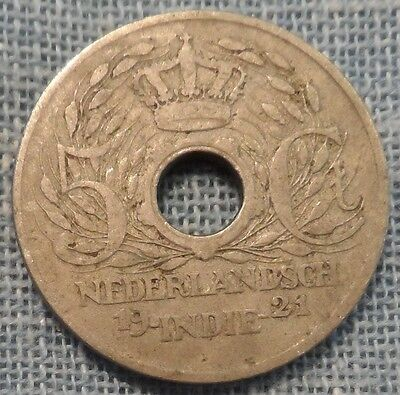 Netherlands East Indies  1921  5 Cents   Km#313