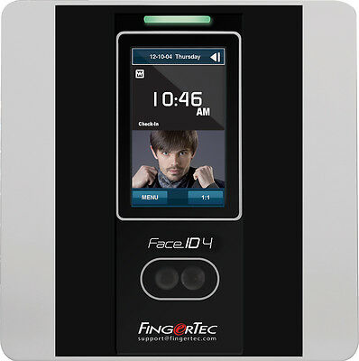 FingerTec Face ID 4d Time Clock- Facial + RFID + PIN + Aussie Support