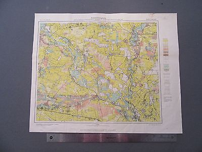 MAPS: German Geology Maps WWII - LOT GG04 Seven Sheets